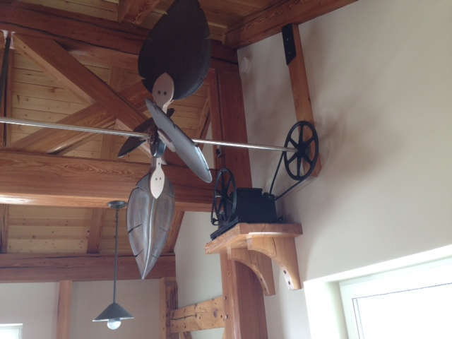 Horizontal Ceiling Fans With Multiple Paddles Bring Back A